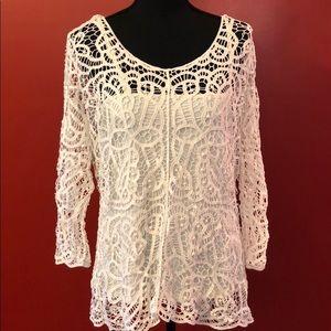 Tops - Lace blouse